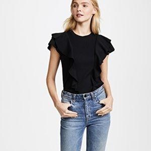 Veronica Beard Jeans Womens M Medium Bea Black